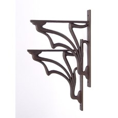 Art Nouveau wall brackets