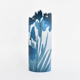 Vase Koson 'Blue Irises'