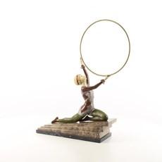 Bronze sculpture Hula