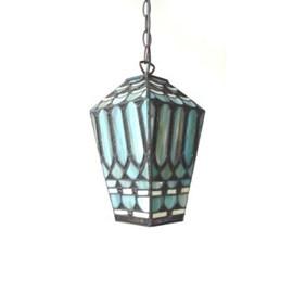 Lantern Tiffany Turqois