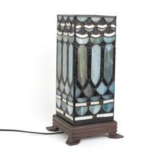 Table Lamp Tiffany Turquois