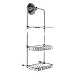 Double Bathroom Rack