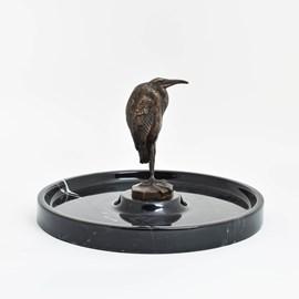 Bronze Ibis in Marble