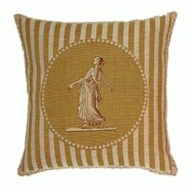 Classical Cushion Yellow Cameo