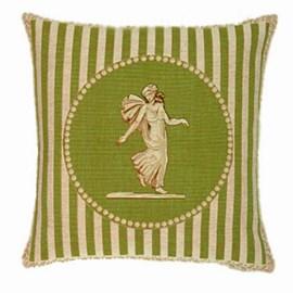 Classic Cushion Cameo Green