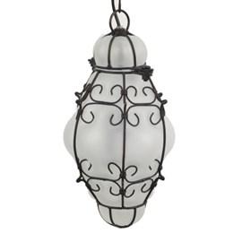 Venetian Hanging Lamp Matte Large