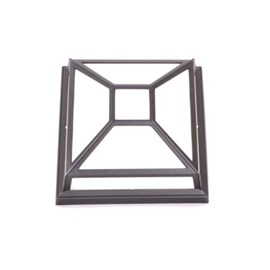 Outdoor Lamp Square Shatterproof with Bars