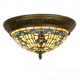 Tiffany Ceiling Lamp Dome Romanza