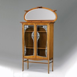 Art Nouveau Display Case Decorative