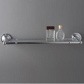 Bathroom Shelf Chrome with glass