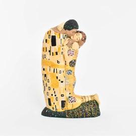 Klimt Sculpture The Kiss
