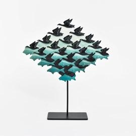 Escher Sculpture Air and Water