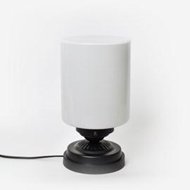 Low Table Lamp Sleek Cylinder Moonlight
