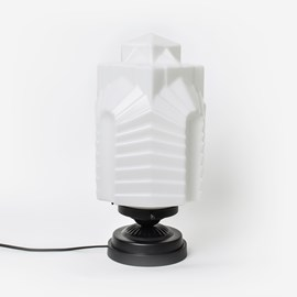 Low Table Lamp Chrysler Moonlight