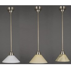 Classic Hanging Lamp Cono in 3 colours and several dimensions
