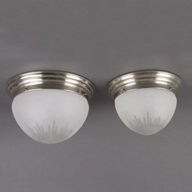 Ceiling Lamp Coupe Star Cut Glass