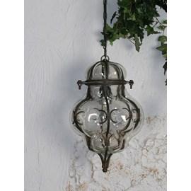 Hanging Lamp Onion Clear Venetian