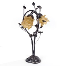 Art Nouveau Table Lamp Flower
