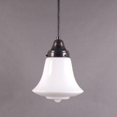 Hanging Lamp Bell Opal