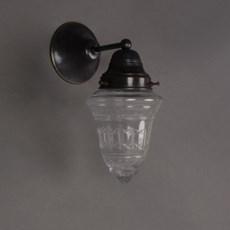 Wall Lamp Clear Cut Glass