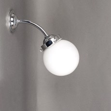 Outdoor/ Large Bathroom Wall Lamp Globe