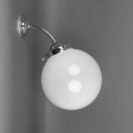 Outdoor / Large Bathroom Wall Lamp Globe Ø 20 Unbreakable