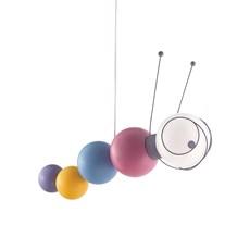 Caterpillar Children's Hanging Lamp