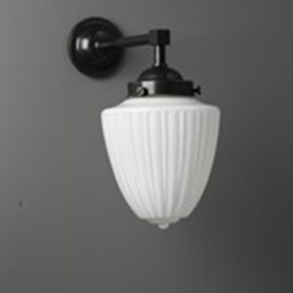 Outdoor/ Large Bathroom Wall Lamp Antique