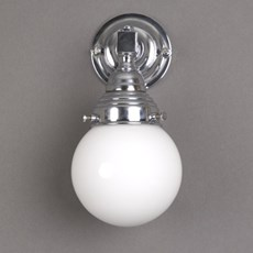 Bathroom Lamp Globe Small