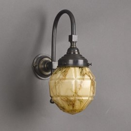 Bathroom Lamp Windows Globe Large Arch