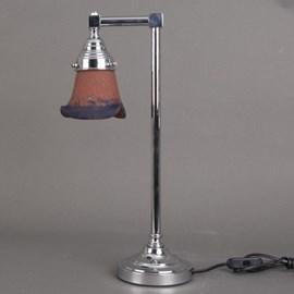Bathroom Table Lamp 1-Light Pâte-de-Verre