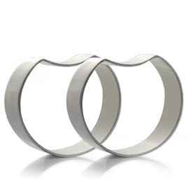 Magppie | Crescent napkin rings set of 6