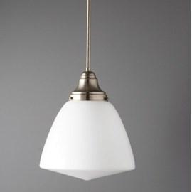Hanging Lamp School Globe Long Classic