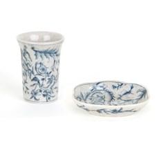 Ceramic Set Blue Angel