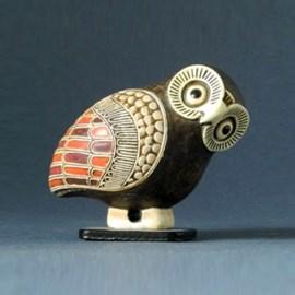 Sculpture Greek Owl
