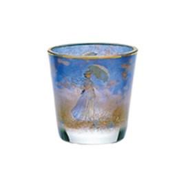 Tea Light Holder 'Madame with Parasol'