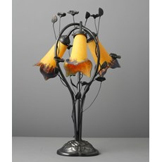 Jugendstil Table Lamp Flower