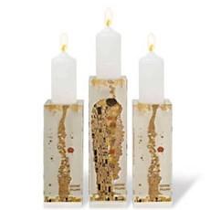 Set Candlesticks Klimt The Kiss