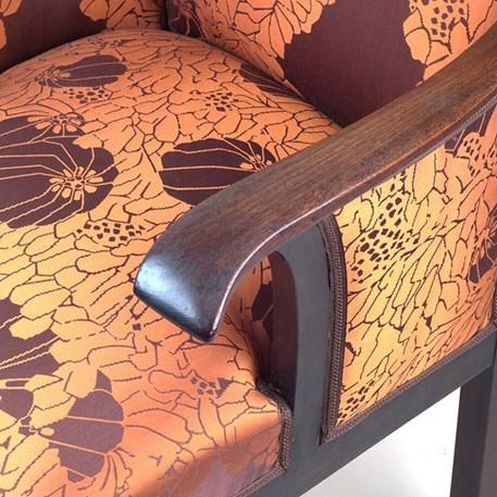 Detail Armrest Amsterdam School Armchair