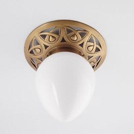 Ceiling Lamp Eleganta  Solid Bronze Fitting