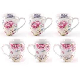 Set of 6 Mugs Chinoiserie