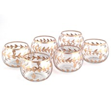 Set of 6 Tea-Light Holders Aurelia