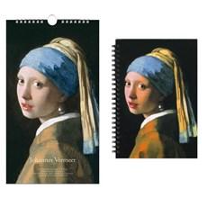 Birthday Calendar & Notebook Johannes Vermeer