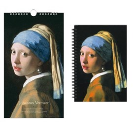 Birthday Calendar & Notebook Johannes Vermeer