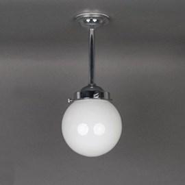 Outdoor/ Large Bathroom Hanging Lamp Globe