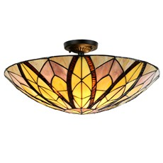 Tiffany Ceiling Lamp Flow Souplesse