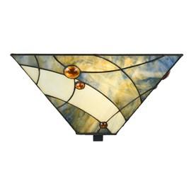 Tiffany Ceiling Lamp Sky Blue