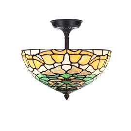 Tiffany  Elongated  Ceiling Lamp Campanula