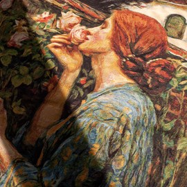 Wall Tapestry The Soul of the Rose   John William Waterhouse