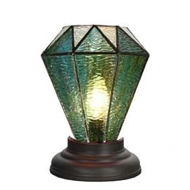 Low Tiffany Table Lamp Arata Green
